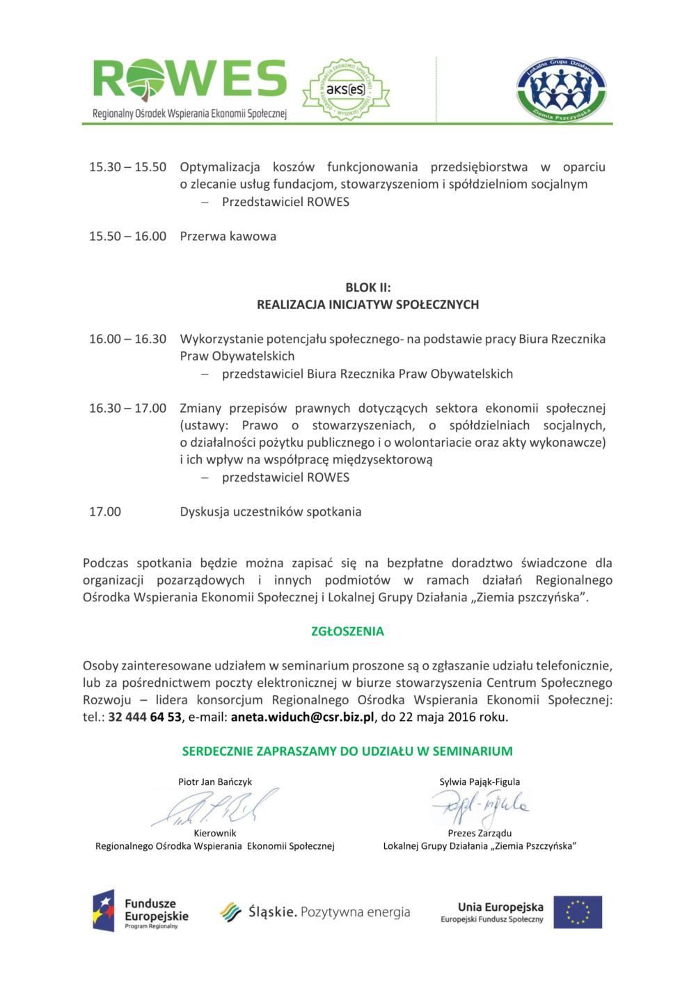 spotkanie dla NGO i sektra publicznego, prywatnego 27.05.2016-01