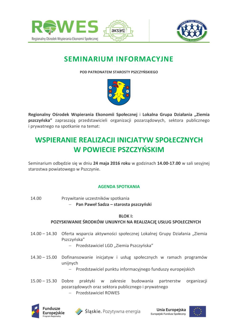 spotkanie dla NGO i sektra publicznego, prywatnego 27.05.2016-1