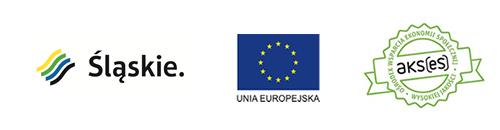 Logotypy. Śląskie, Unia Europejska oraz AKSes